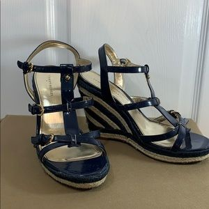 Tommy Hilfiger Nautical wedges size 8.5M